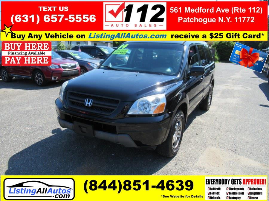 Used 2004 Honda Pilot in Patchogue, New York   www.ListingAllAutos.com. Patchogue, New York
