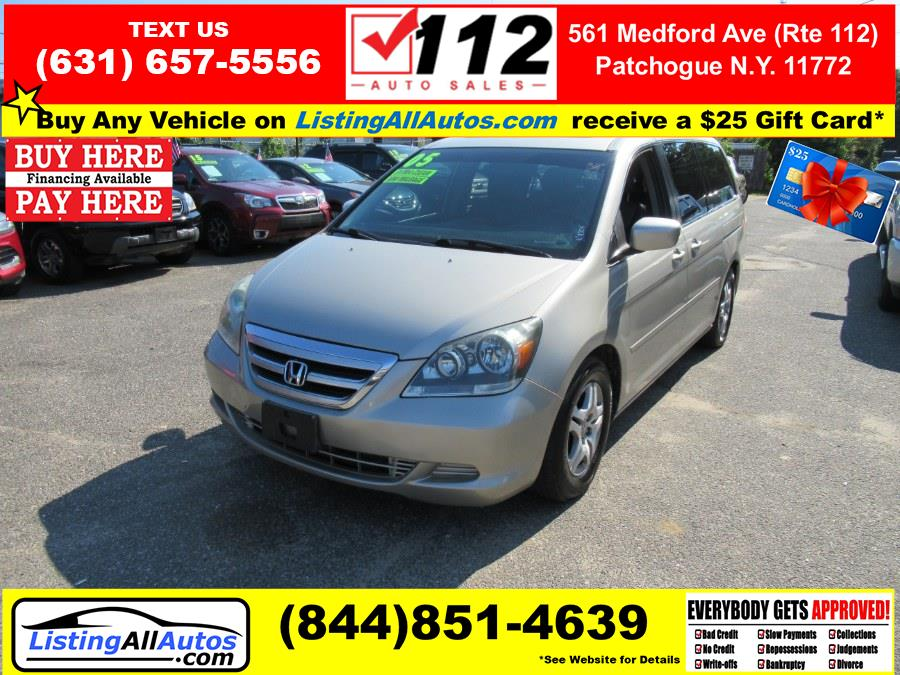 Used 2005 Honda Odyssey in Patchogue, New York   www.ListingAllAutos.com. Patchogue, New York