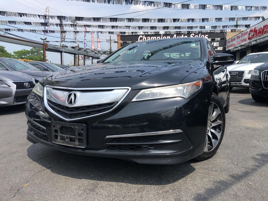Used 2015 Acura TLX in Bronx, New York | Champion Auto Sales. Bronx, New York
