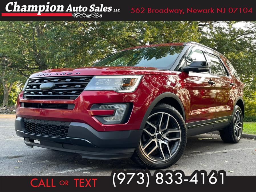 Used 2016 Ford Explorer in Newark, New Jersey | Champion Auto Sales. Newark, New Jersey