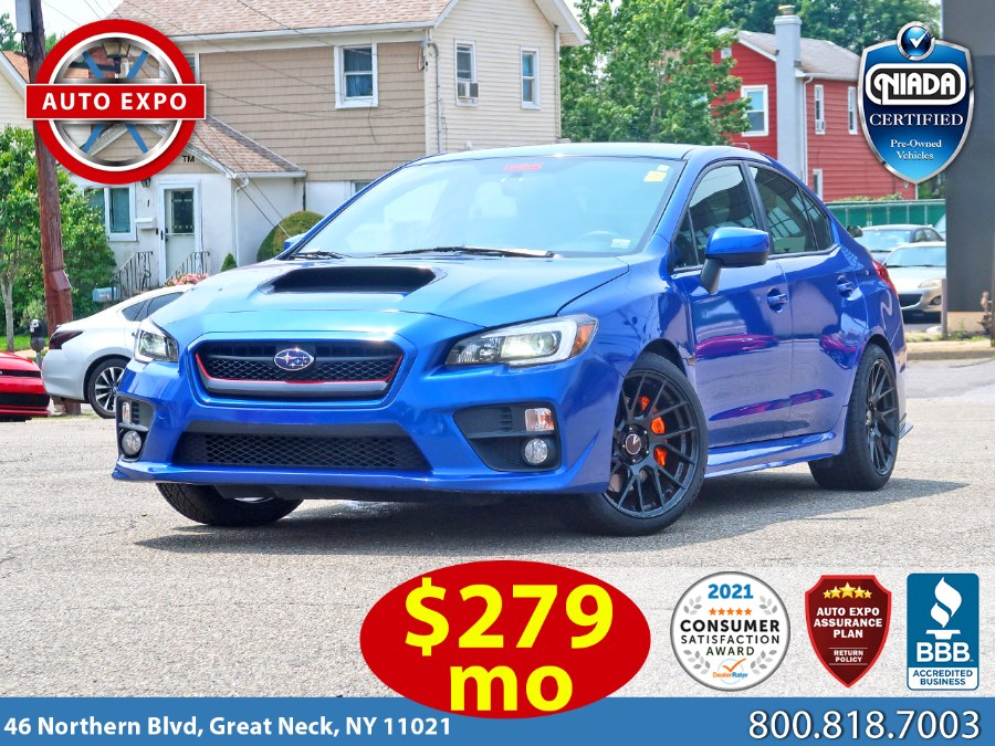 Used 2017 Subaru Wrx in Great Neck, New York   Auto Expo Ent Inc.. Great Neck, New York