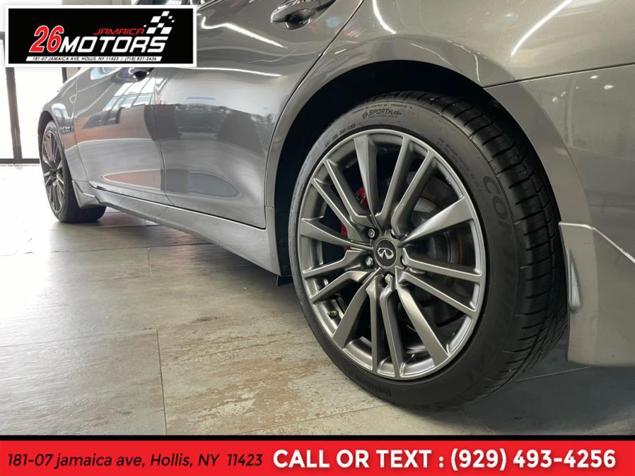 Used INFINITI Q50 Red Sport RED SPORT 400 AWD 2018 | Jamaica 26 Motors. Hollis, New York