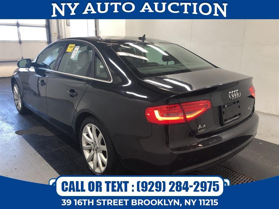 Used Audi A4 4dr Sdn Auto quattro 2.0T Premium Plus 2013 | NY Auto Auction. Brooklyn, New York