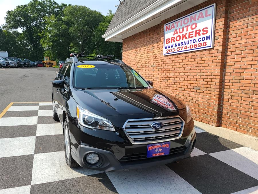 Used Subaru Outback 4dr Wgn 2.5i Premium PZEV 2015 | National Auto Brokers, Inc.. Waterbury, Connecticut