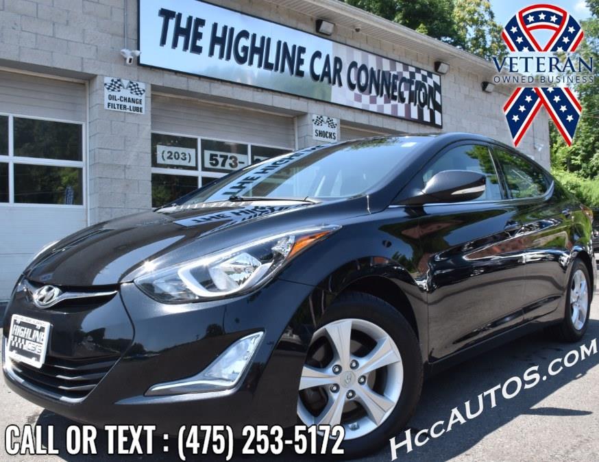 Used Hyundai Elantra 4dr Sdn Auto SE 2016   Highline Car Connection. Waterbury, Connecticut