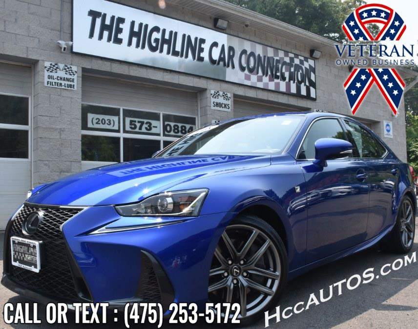 Used Lexus IS IS 300 F Sport AWD 2018 | Highline Car Connection. Waterbury, Connecticut