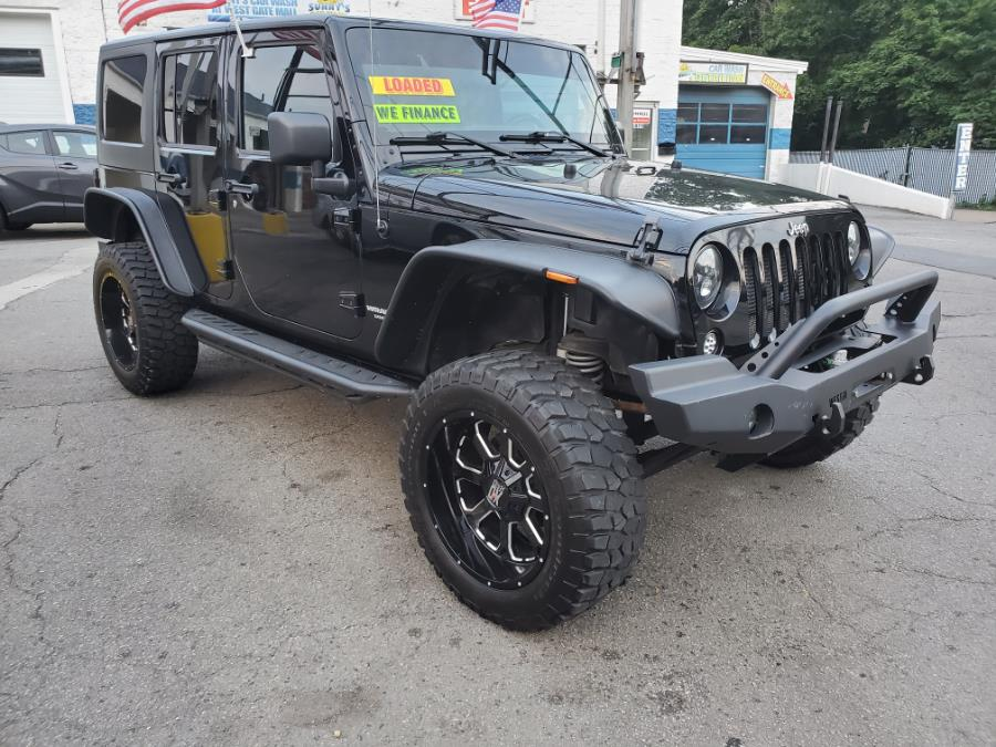 Used Jeep Wrangler Unlimited 4WD 4dr Rubicon 2012 | Capital Lease and Finance. Brockton, Massachusetts