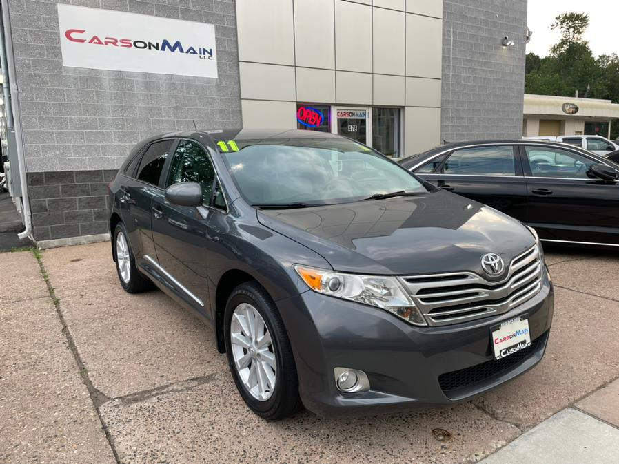 2011 Toyota Venza 4dr Wgn I4 AWD (Natl), available for sale in Manchester, CT
