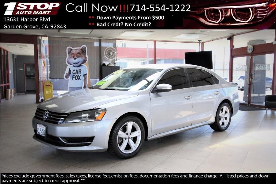 Used 2013 Volkswagen Passat in Garden Grove, California | 1 Stop Auto Mart Inc.. Garden Grove, California