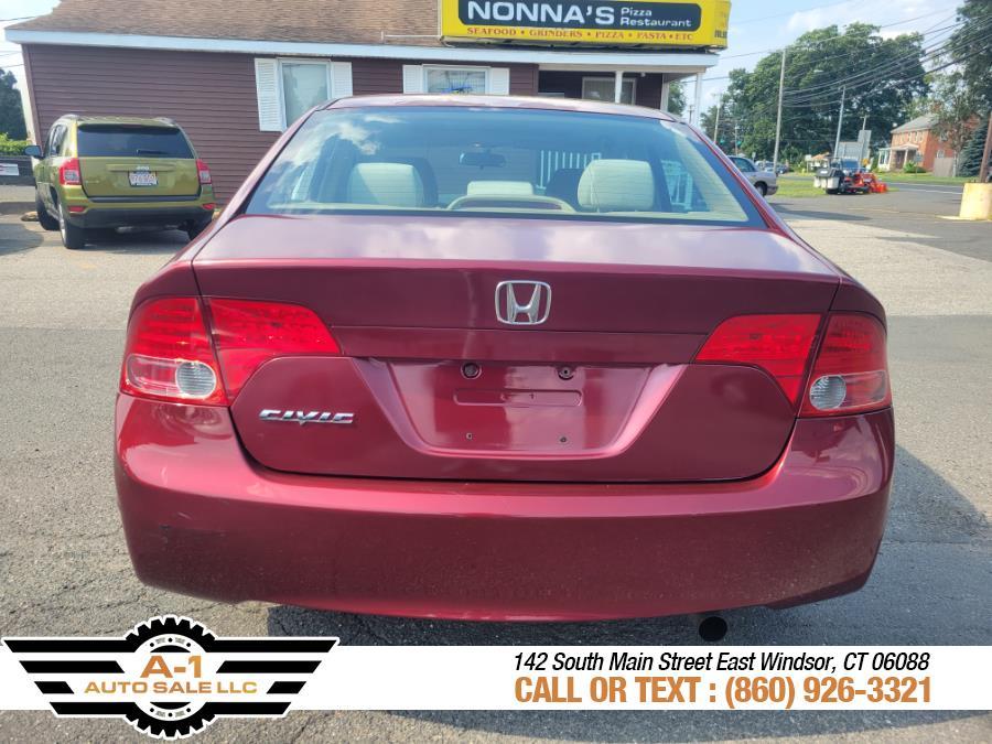 Used Honda Civic Sdn 4dr Auto EX 2008   A1 Auto Sale LLC. East Windsor, Connecticut