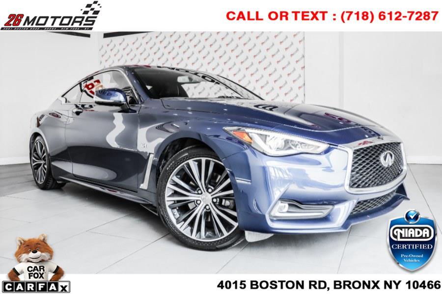 Used INFINITI Q60 Sport AWD 2017 | 26 Motors Corp. Bronx, New York