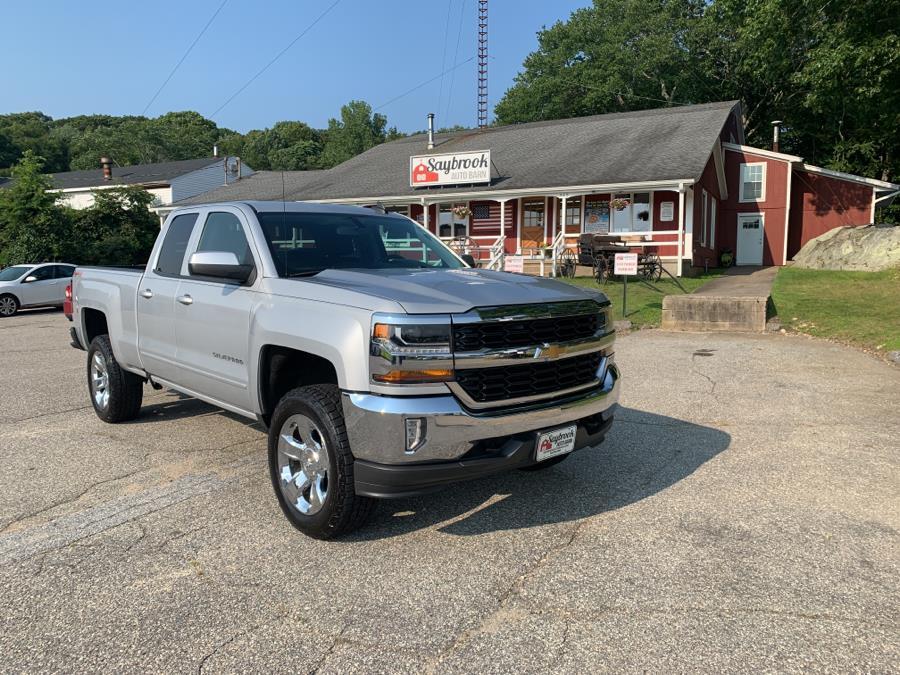 "Used Chevrolet Silverado 1500 4WD Double Cab 143.5"" LT w/1LT 2016   Saybrook Auto Barn. Old Saybrook, Connecticut"