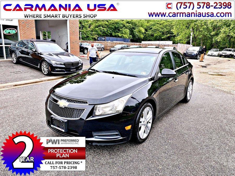 Used Chevrolet Cruze LTZ Sedan 4D 2011 | Carmania USA. Chesapeake, Virginia