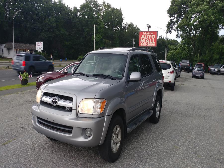 Used Toyota Sequoia 4dr SR5 4WD 2005 | Matts Auto Mall LLC. Chicopee, Massachusetts