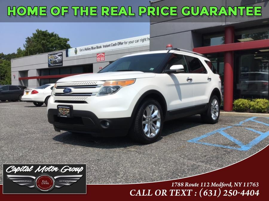 Used Ford Explorer 4WD 4dr Limited 2011   Capital Motor Group Inc. Medford, New York