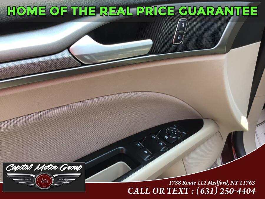 Used Ford Fusion SE FWD 2017   Capital Motor Group Inc. Medford, New York