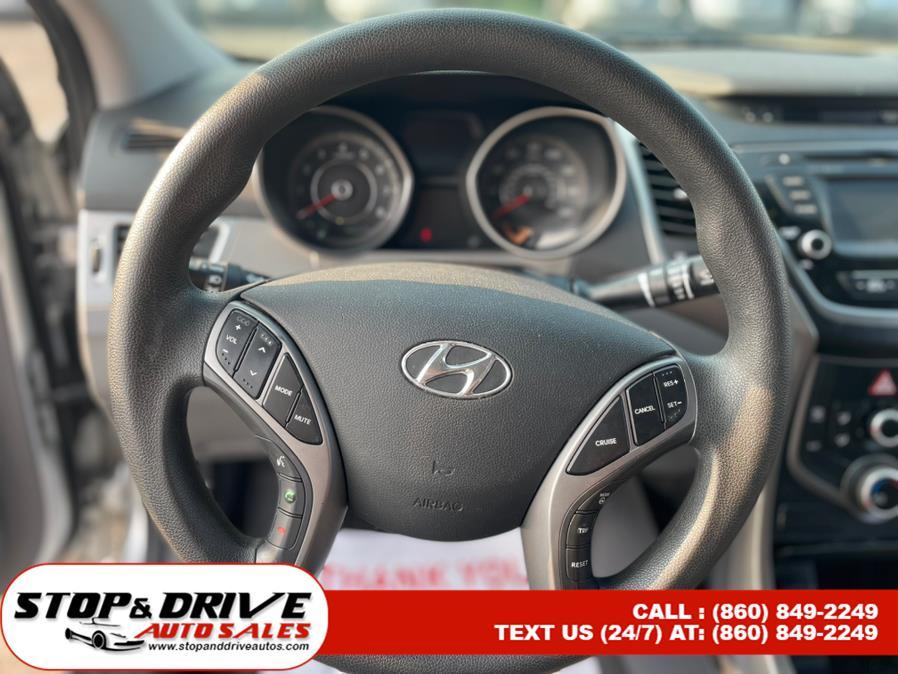 Used Hyundai Elantra 4dr Sdn Auto SE (Alabama Plant) 2015   Stop & Drive Auto Sales. East Windsor, Connecticut