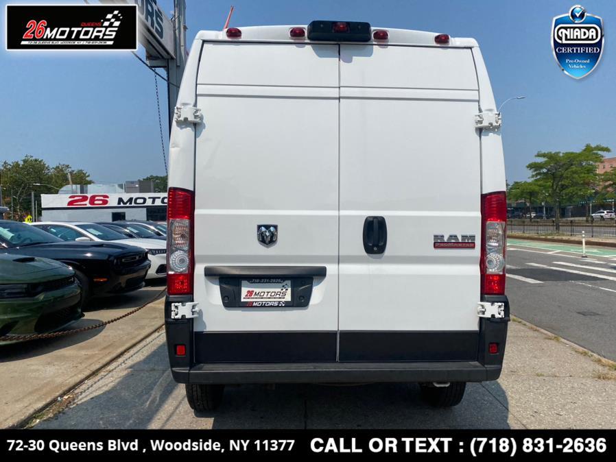 "Used Ram ProMaster Cargo Van 1500 High Roof 136"" WB 2020 | 26 Motors Queens. Woodside, New York"
