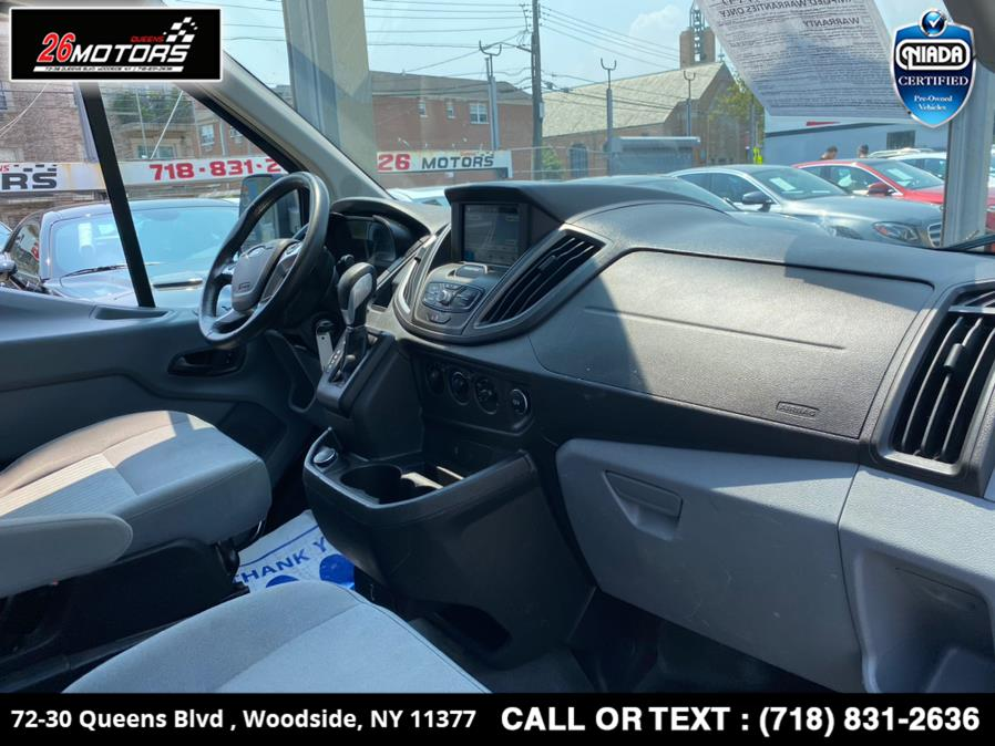 """Used Ford Transit Van T-250 148"""" Low Rf 9000 GVWR Swing-Out RH Dr 2017   26 Motors Queens. Woodside, New York"""