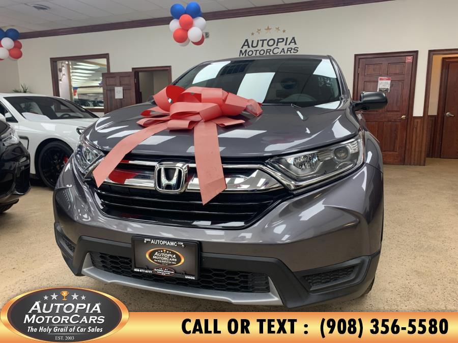 Used Honda CR-V LX 2WD 2018 | Autopia Motorcars Inc. Union, New Jersey