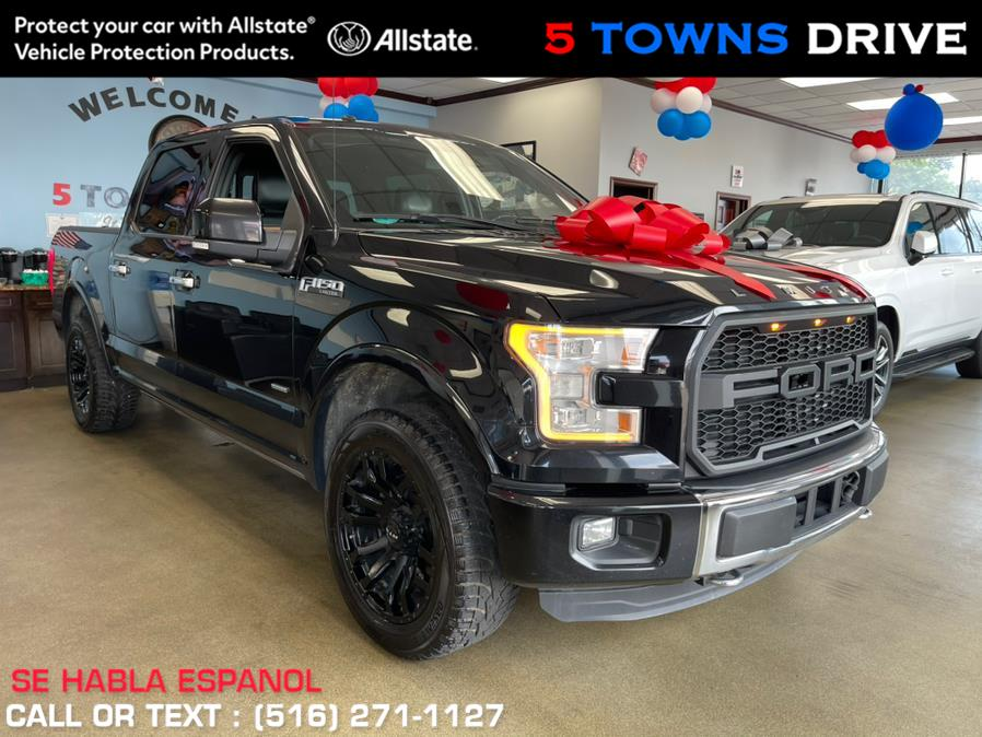 """Used Ford F-150 4WD SuperCrew 145"""" Limited 2016   5 Towns Drive. Inwood, New York"""