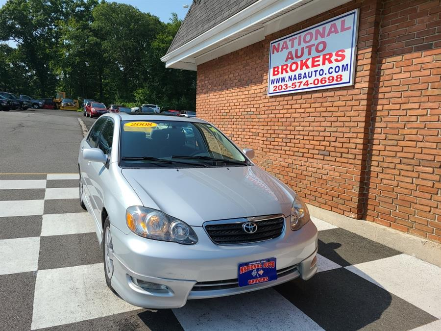 Used Toyota Corolla 4dr Sdn Auto S 2008 | National Auto Brokers, Inc.. Waterbury, Connecticut