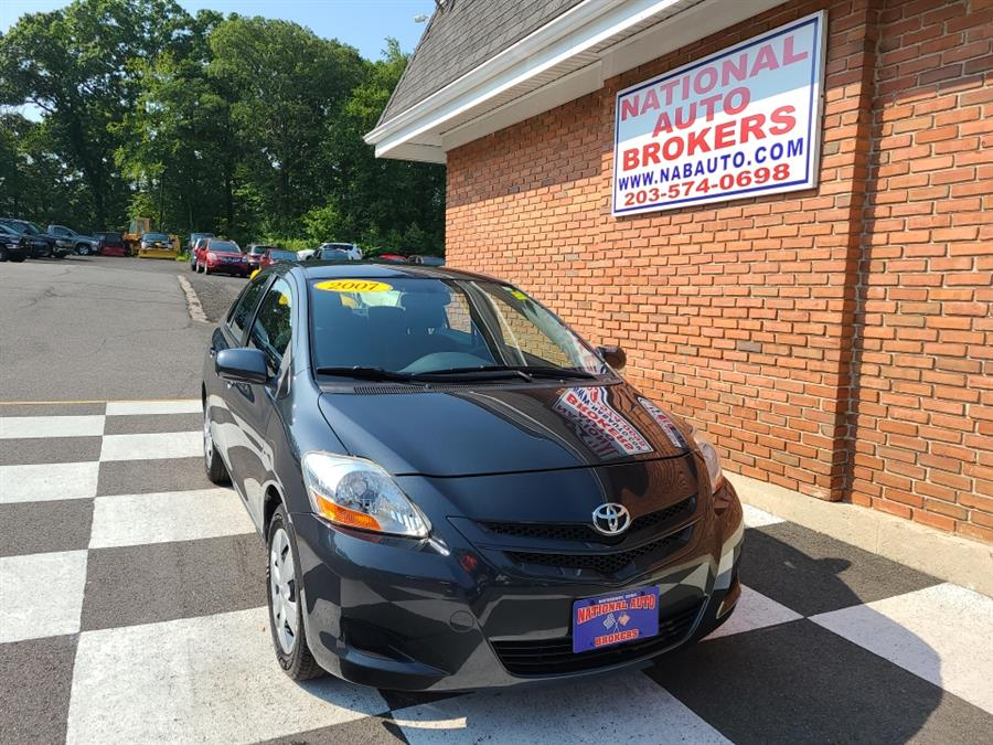 Used Toyota Yaris 4dr Sdn Auto Base 2007   National Auto Brokers, Inc.. Waterbury, Connecticut