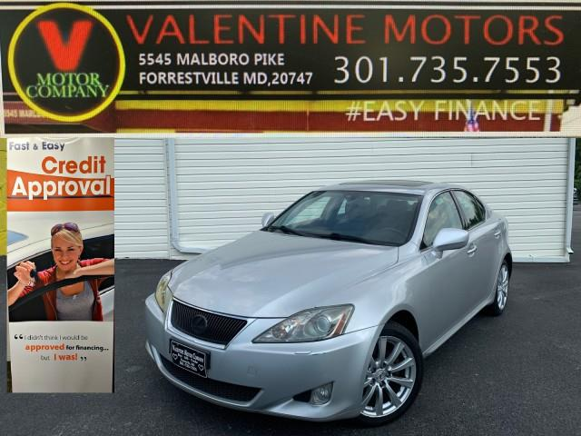 Used Lexus Is 250 Auto 2006 | Valentine Motor Company. Forestville, Maryland