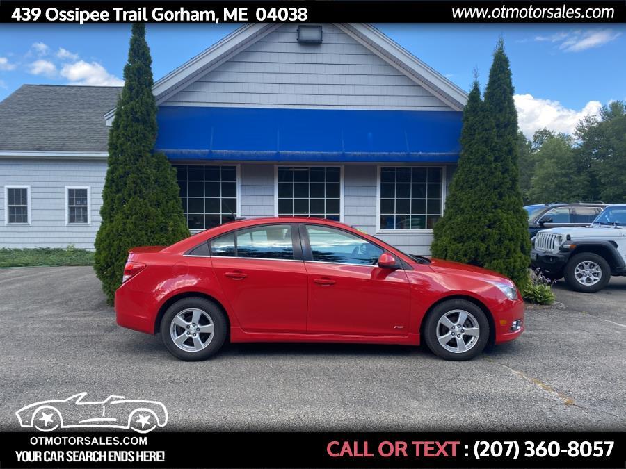 Used 2013 Chevrolet Cruze in Gorham, Maine | Ossipee Trail Motor Sales. Gorham, Maine