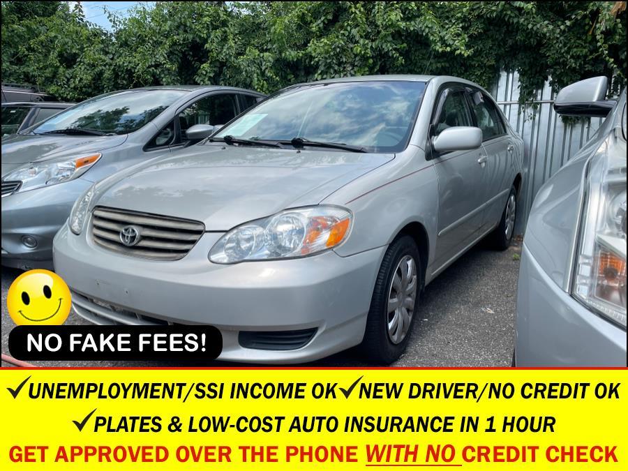 Used 2003 Toyota Corolla in Rosedale, New York | Sunrise Auto Sales. Rosedale, New York