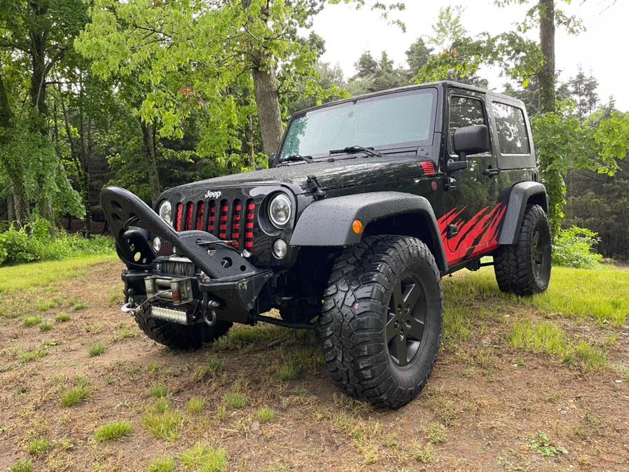Used Jeep Wrangler 4WD 2dr X 2008 | VIP on 6 LLC. Hampton, Connecticut
