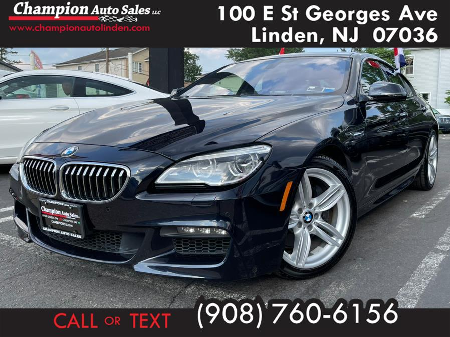 Used 2016 BMW 6 Series in Linden, New Jersey | Champion Used Auto Sales. Linden, New Jersey