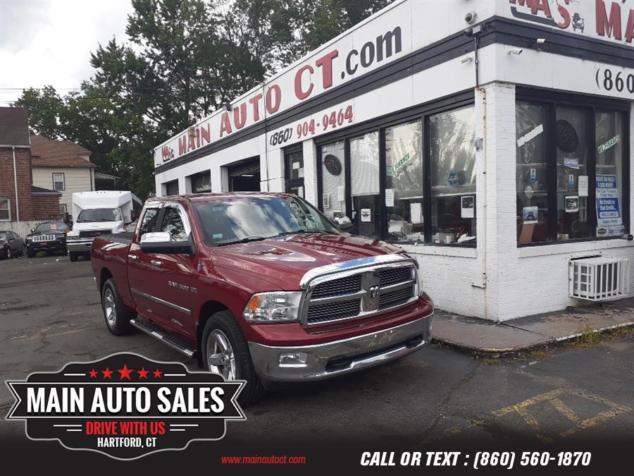 "Used Ram 1500 4WD Quad Cab 140.5"" Big Horn 2011 | Main Auto Sales LLC. Hartford, Connecticut"