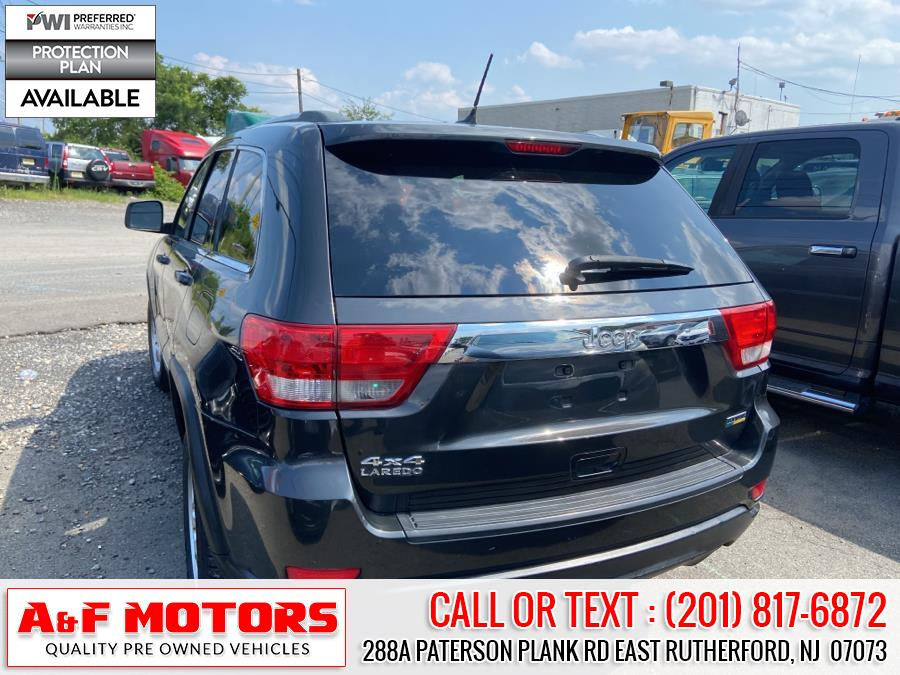 Used Jeep Grand Cherokee 4WD 4dr Laredo 2011   A&F Motors LLC. East Rutherford, New Jersey