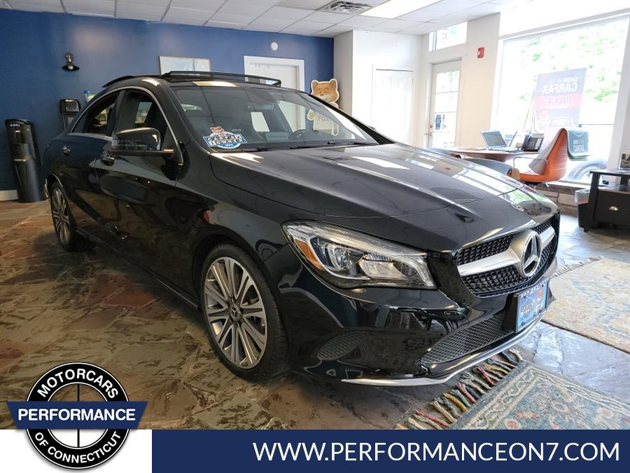 Used Mercedes-Benz CLA CLA 250 4MATIC 2018   Performance Motor Cars Of Connecticut LLC  . Wilton, Connecticut