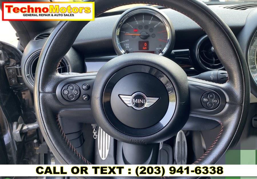 Used MINI Cooper Coupe 2dr John Cooper Works 2012 | Techno Motors . Danbury , Connecticut