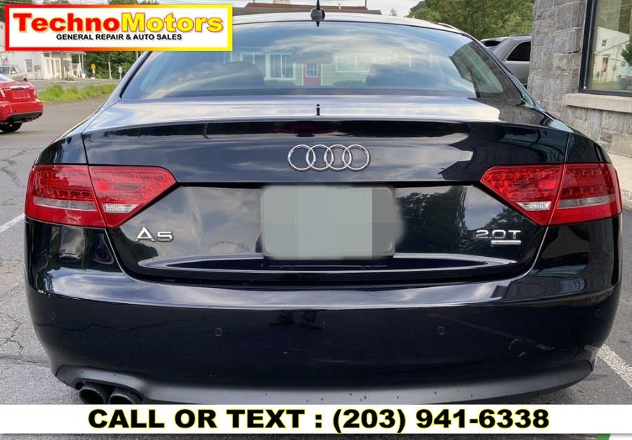 Used Audi A5 2dr Cpe Auto quattro 2.0T Premium Plus 2012   Techno Motors . Danbury , Connecticut