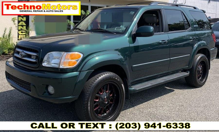 Used Toyota Sequoia 4dr Limited 4WD 2002 | Techno Motors . Danbury , Connecticut