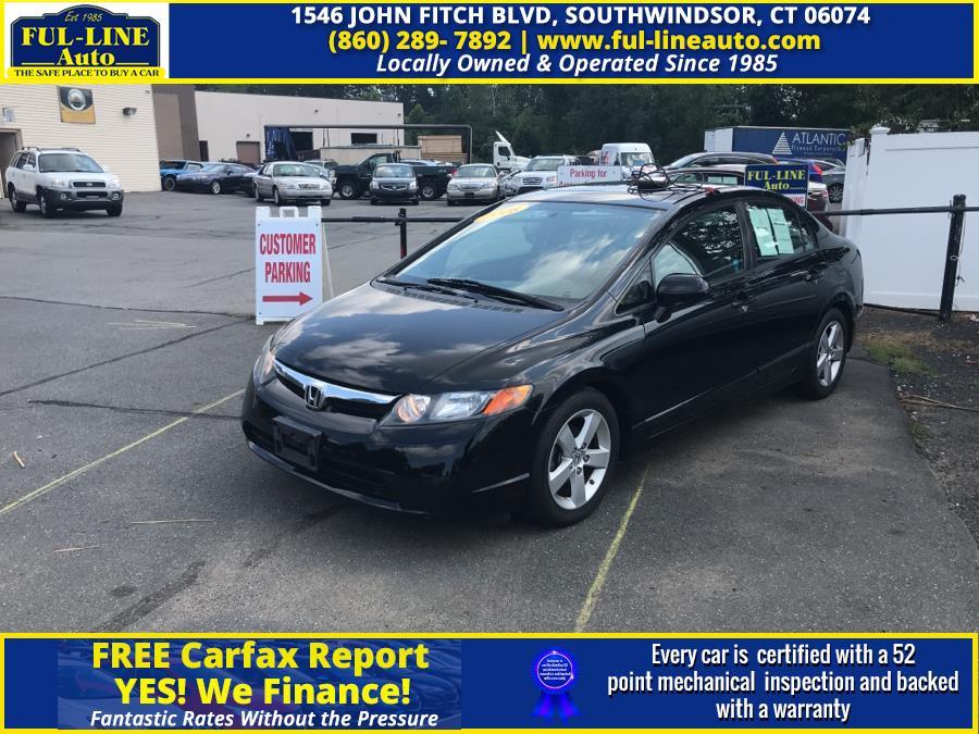 Used 2008 Honda Civic Sdn in South Windsor , Connecticut | Ful-line Auto LLC. South Windsor , Connecticut