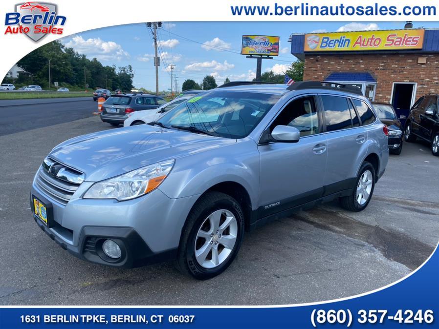 Used Subaru Outback 4dr Wgn H4 Auto 2.5i Premium 2014 | Berlin Auto Sales LLC. Berlin, Connecticut