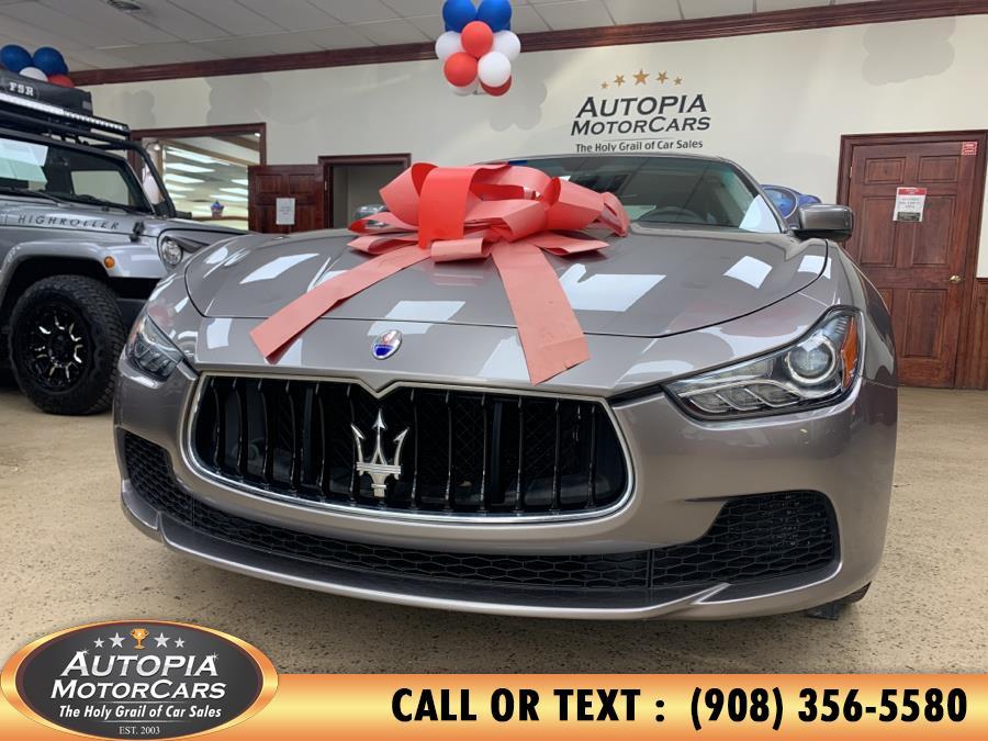 Used Maserati Ghibli 4dr Sdn S Q4 2016 | Autopia Motorcars Inc. Union, New Jersey