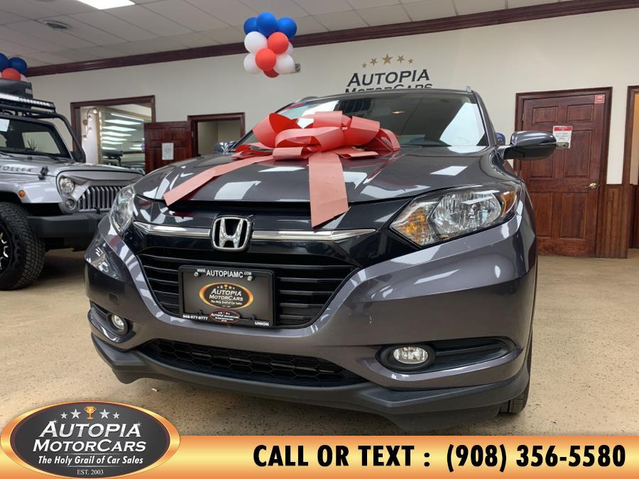 Used Honda HR-V AWD 4dr CVT EX-L w/Navi 2016 | Autopia Motorcars Inc. Union, New Jersey