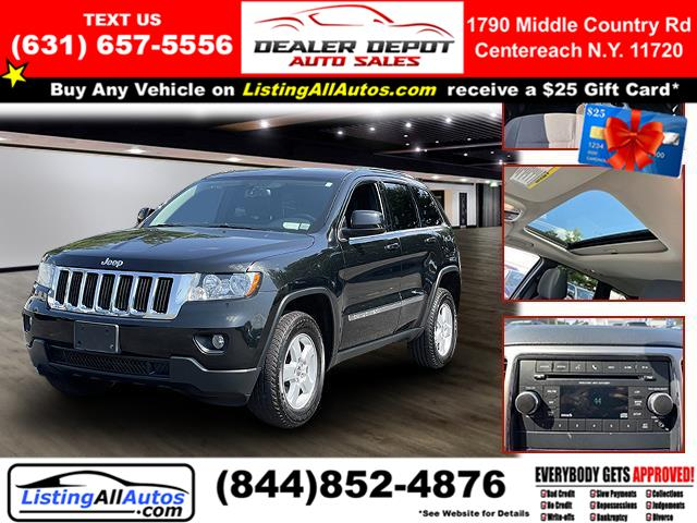 Used 2012 Jeep Grand Cherokee in Patchogue, New York | www.ListingAllAutos.com. Patchogue, New York