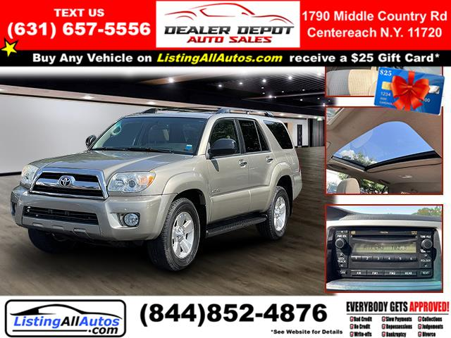 Used 2008 Toyota 4runner in Patchogue, New York   www.ListingAllAutos.com. Patchogue, New York
