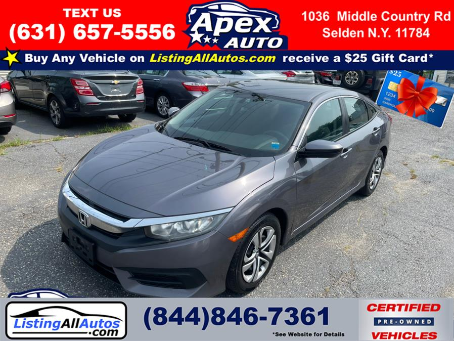 Used 2016 Honda Civic Sedan in Patchogue, New York   www.ListingAllAutos.com. Patchogue, New York