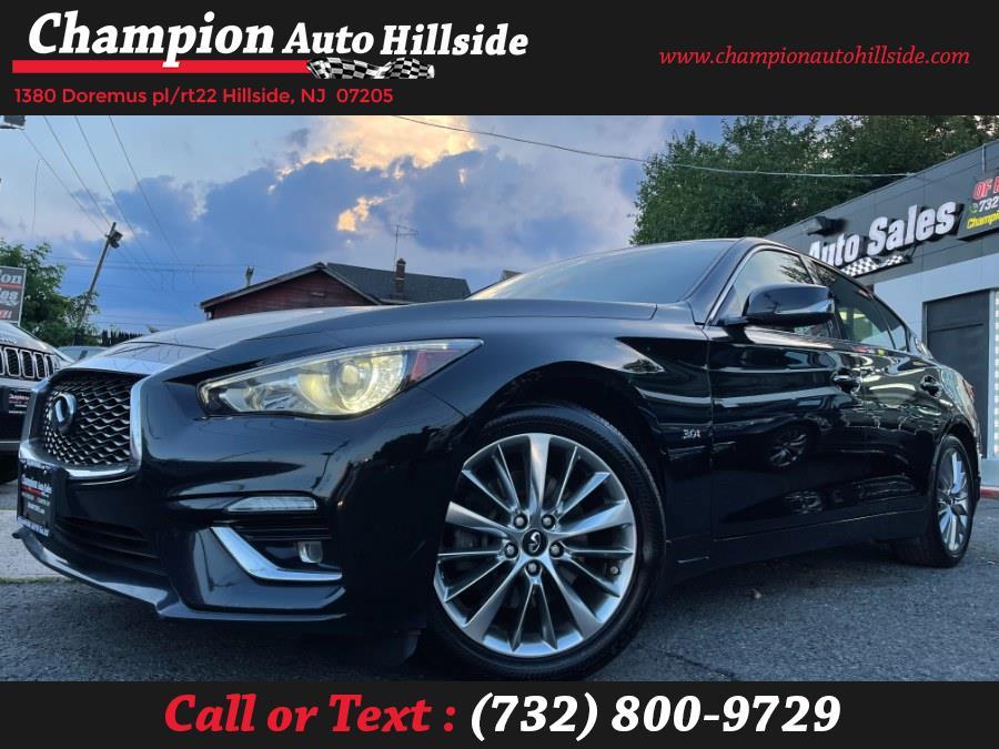 Used 2018 INFINITI Q50 in Hillside, New Jersey | Champion Auto Hillside. Hillside, New Jersey