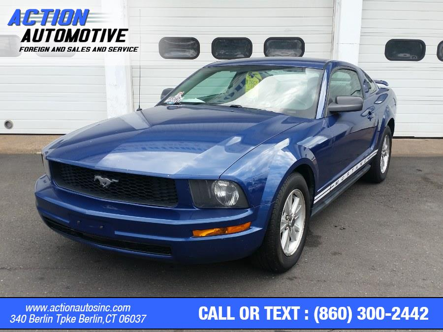Used Ford Mustang 2dr Cpe Deluxe 2006 | Action Automotive. Berlin, Connecticut