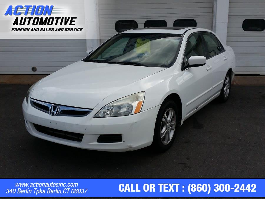 Used Honda Accord Sdn 4dr I4 AT EX-L 2007   Action Automotive. Berlin, Connecticut