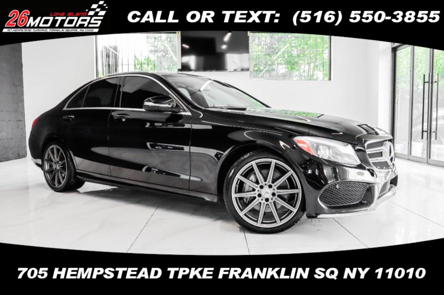 Used Mercedes-Benz C-Class 4dr Sdn C300 Sport 4MATIC 2015   26 Motors Corp. Bronx, New York