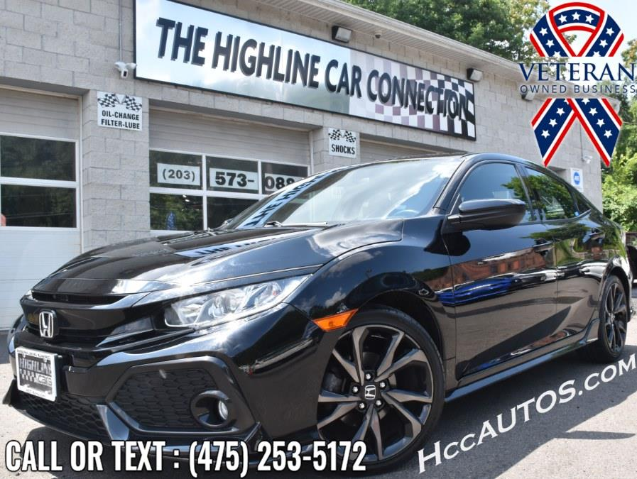 Used Honda Civic Hatchback Sport Manual 2018 | Highline Car Connection. Waterbury, Connecticut